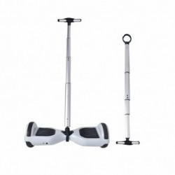 Asta Manubrio Allungabile Accessorio per Hoverboard da 6.5 e 10 pollici Bastone Appoggio Argento