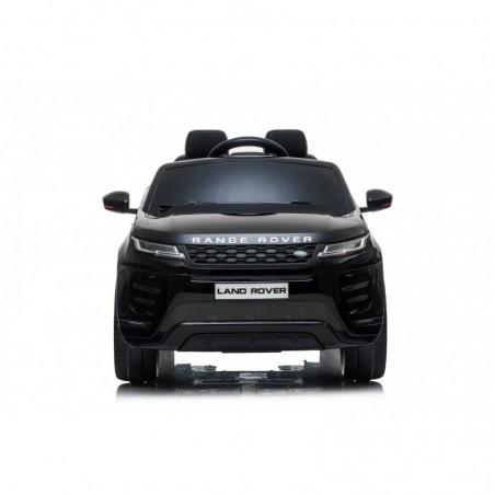 Auto Macchina Elettrica Range Rover Evoque 12V per Bambini sedile in pelle porte apribili Con telecomando Full accessori (NERO)