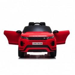 Auto Macchina Elettrica Range Rover Evoque 12V per Bambini porte apribili Con telecomando Full accessori (ROSSA)