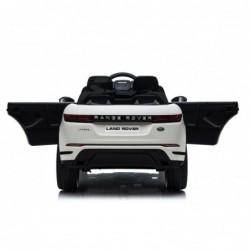 Auto Macchina Elettrica Range Rover Evoque 12V per Bambini porte apribili Con telecomando Full accessori (BIANCA)