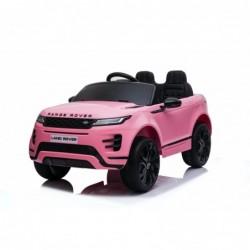 Auto Macchina Elettrica Range Rover Evoque 12V per Bambini porte apribili Con telecomando Full accessori (ROSA)