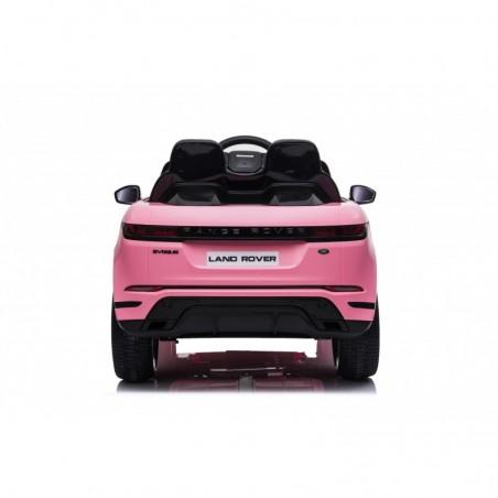 Auto Macchina Elettrica Range Rover Evoque 12V per Bambini sedile in pelle porte apribili Con telecomando Full accessori (ROSA)