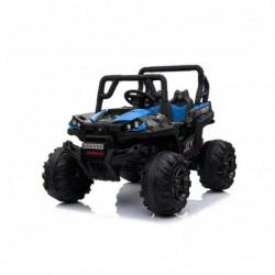 Auto Macchina Elettrica Fuoristrada Racing 2 Posti 12V per Bambini porte apribili Con telecomando (Blue)