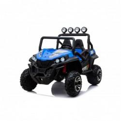 Auto Macchina Elettrica New Polar 24V per Bambini 2 Posti Full Optional Sedile Regolabile E telecomando (Blue)
