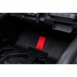 Auto Macchina Elettrica New Polar 24V per Bambini 2 Posti Full Optional Sedile Regolabile E telecomando (Rossa)