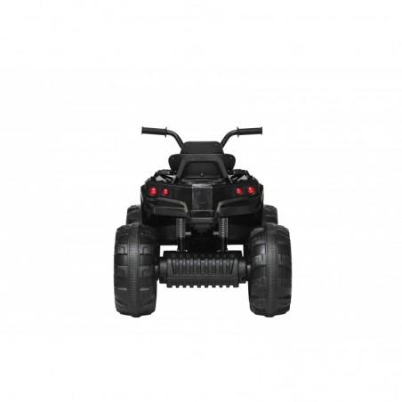 Super Quad Lander elettrico per Bambini 12V doppio motore Full optional con Ammortozzatori Nero con Telecomando