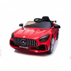 Auto Macchina Elettrica per Bambini Mercedes AMG GTR 12V Porte Apribili Full Optional con telecomando Rosso