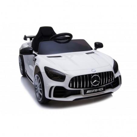 Auto Macchina Elettrica per Bambini Mercedes AMG GTR 12V Porte Apribili Full Optional con telecomando