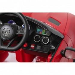 Auto Macchina Elettrica per Bambini Mercedes AMG GT 12V Porte Apribili Full Optional con telecomando Rossa
