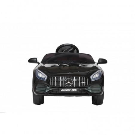 Auto Macchina Elettrica per Bambini Mercedes AMG GT 12V Porte Apribili Full Optional con telecomando nero