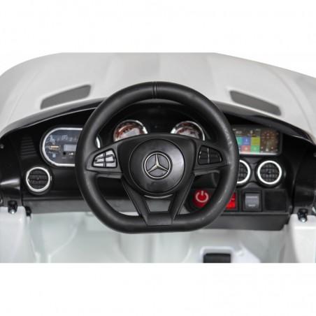 Auto Macchina Elettrica per Bambini Mercedes AMG GT 12V Porte Apribili Full Optional con telecomando
