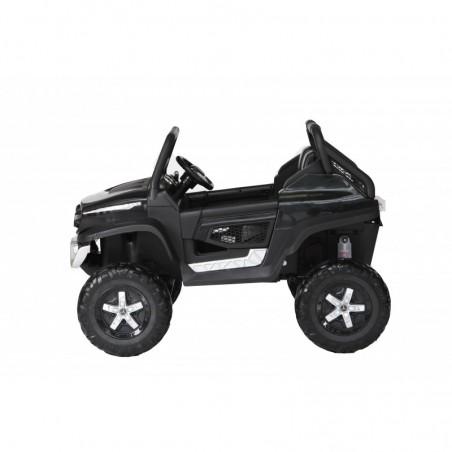 Auto Macchina Elettrica per Bambini Fuoristrada Mercedes UNIMOG 2 Posti 12V Ammortizzata con Telecomando Full Optional MP3 Led