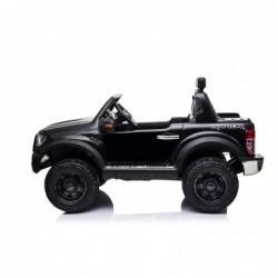 Auto Elettrica per Bambini 2 posti Ford Ranger Raptor Nera 12 Volt Ruote in Gomma Sedile in Pelle porte apribili e telecomando 2