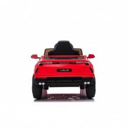 Auto Macchina Elettrica per Bambini 12V Lamborghini URUS Rossa con Telecomando Porte apribili Led e suoni Mp3