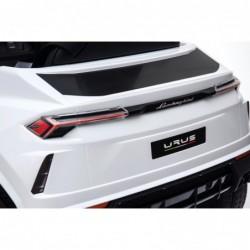 Auto Macchina Elettrica per Bambini 12V Lamborghini URUS Bianca con Telecomando Porte apribili Led e suoni Mp3