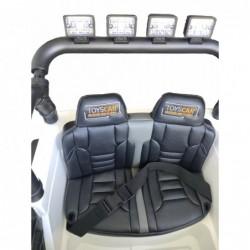 Auto Macchina Elettrica Fuoristrada Big Adventure 24V per Bambini 2 Posti Full Optional sedile in pelle telecomando porte apribi