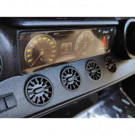 Auto Macchina Elettrica per Bambini 12V Mercedes CLS 350 AMG ROSA con Sedile in Pelle Telecomando 2.4 GHz Porte Apribili e MP3