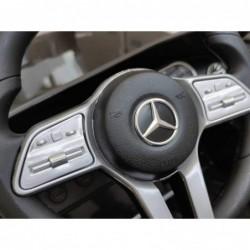 Auto Macchina Elettrica per Bambini 12V Mercedes CLS 350 AMG con Sedile in Pelle Telecomando 2.4 GHz Porte Apribili e MP3
