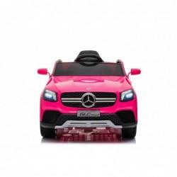 Auto Macchina Elettrica per Bambini 12V Mercedes GLC Coupè Concept con telecomando Rosa