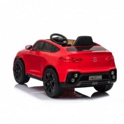 Auto Macchina Elettrica per Bambini 12V Mercedes GLC Coupè Concept con telecomando Rossa