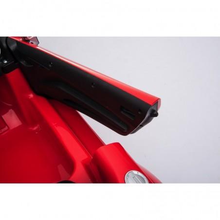Auto Macchina Elettrica per Bambini 12V Audi TT S RoadSter Sedile Pelle con Telecomando Rossa
