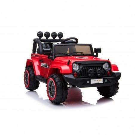 Auto Macchina Elettrica per Bambini Fuoristrada Adventure 12V MP3 Led con Telecomando Full Optional Sedili in Pelle