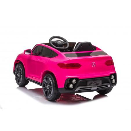 Auto Macchina Elettrica per Bambini 12V Mercedes GLC Coupè con telecomando Rosa