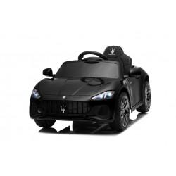 Macchina Elettrica per Bambini 12V Maserati GranCabrio con sedile in pelle Telecomando Porte apribili Led e suoni Mp3