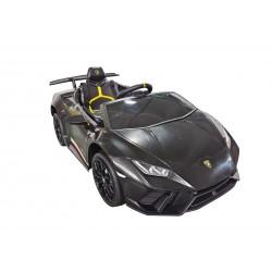 Macchina Elettrica per Bambini 12V Lamborghini Huracán con Telecomando Porte apribili Led e suoni Mp3